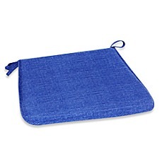 Outdoor Bistro Chair Pad in Blue