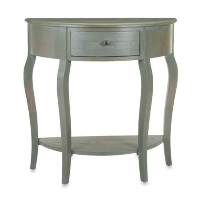 Buy small accent tables for small spaces from bed bath for Small bathroom accent tables