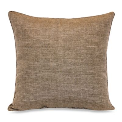 Outdoor 17-Inch Welt Cord Pillow in Chino