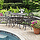 Home Styles Biscayne 3-Piece Bistro Set in Bronze