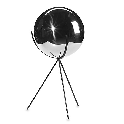 Rome Industries Stainless Steel Gazing Globe with Stand