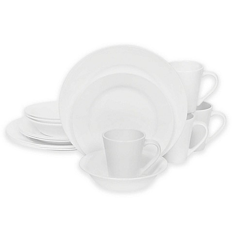 Corelle® Shimmering White 16-Piece Dinnerware Set