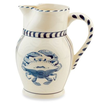 Blue Crab Bay Co Pitcher