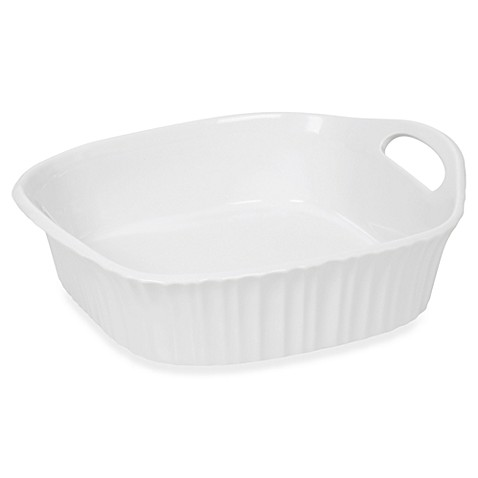 CorningWare® French White® III 8-Inch Square Baking Dish