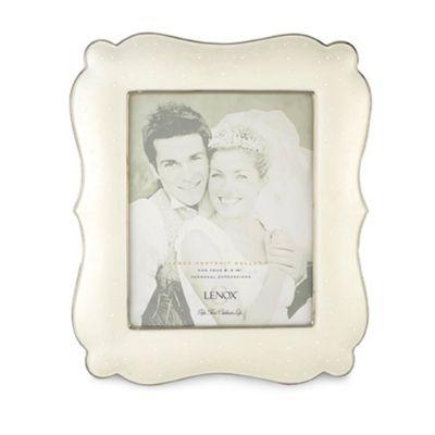 Ivory Platinum Frame
