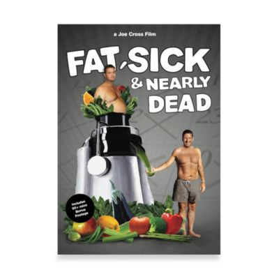 """Fat, Sick & Nearly Dead"" Full Feature Documentary DVD"