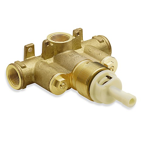Moen Metal 3/4-Inch Thermostatic Valve With Stops