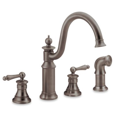 Moen Waterhill Oil Rubbed Bronze Faucet