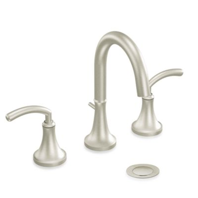 Moen® Icon 2-Handled 9-Inch Faucet in Brushed Nickel