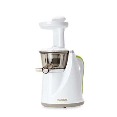 Omega Slow Juicer Bed Bath And Beyond : Hurom Slow Juicer in White