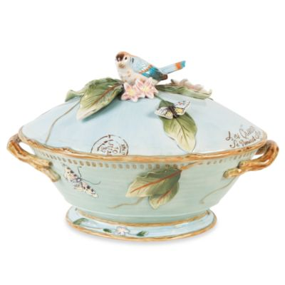 Fitz & Floyd Toulouse 9.75-Inch Tureen with Ladle