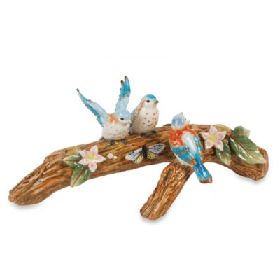 Fitz & Floyd Toulouse Bird Candle Holder