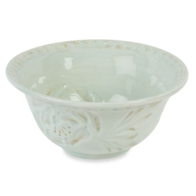 Fitz & Floyd Toulouse Green 7.25-Inch Cereal Bowl