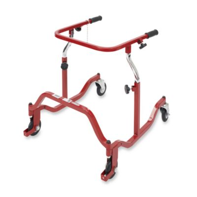 Drive Medical Wenzelite Pediatric Anterior Safety Roller in Red