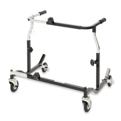 Drive Medical Wenzelite Ajustable Width Pediatric Anterior Safety Roller in Black