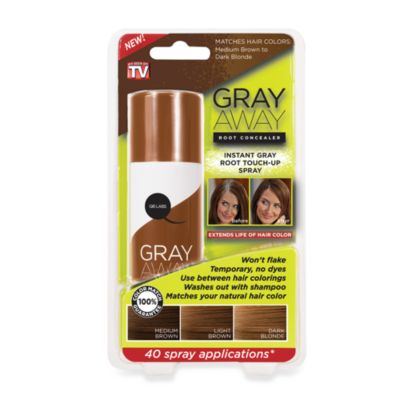 Grey Away Root Concealer in Medium Brown to Dark Blonde
