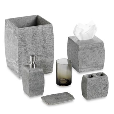 Kenneth Cole Reaction® Home Slate Waste Basket