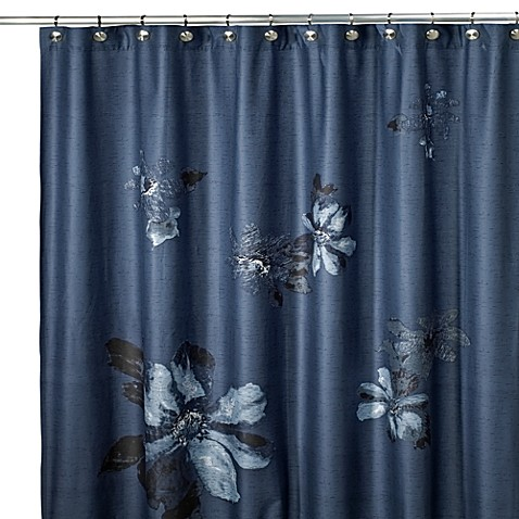Kenneth Cole Reaction® Home Etched Floral Shower Curtain