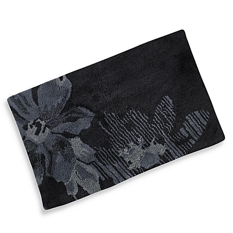 Kenneth Cole Reaction® Home Etched Floral Bath Rug