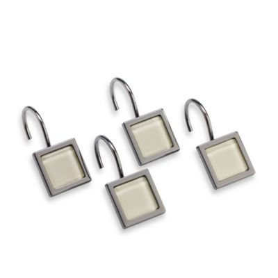 Kenneth Cole Reaction Home Tribeca Sand Shower Hooks (Set of 12)