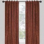 Crinkle Chintz Window Curtain Panels