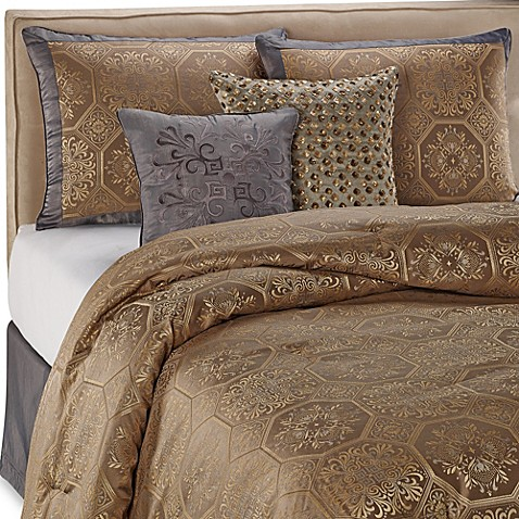 Bergamo 4-Piece California King Comforter Set