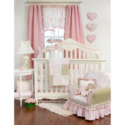 Glenna Jean Isabella 3-Piece Crib Bedding Set