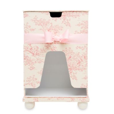 Glenna Jean Isabella Diaper Caddy & Wipes Holder