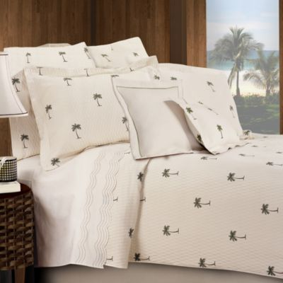 The Palm King Pillow Sham
