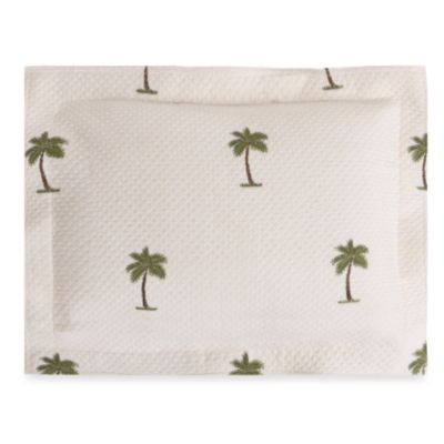 The Palm Boudoir Throw Pillow