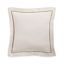 The Palm Square Throw Pillow