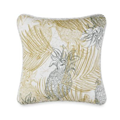 Tommy Bahama® Pineapple Paradise 18-Inch Square Toss Pillow