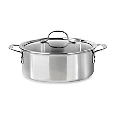 Calphalon® Tri-Ply Stainless Steel 5-Quart Dutch Oven with Lid