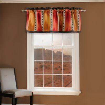 El Rancho Rojo Window Valance