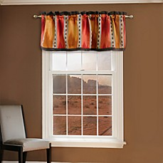 El Rancho Rojo Window Valance