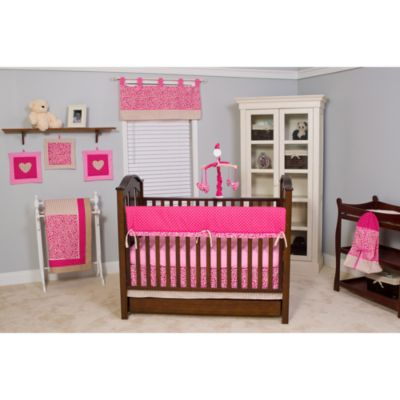 Pam Grace Creations 10-Piece Crib Bedding