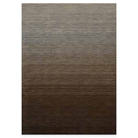 Kenneth Cole Reaction Home 5-Foot x 7-Foot Area Rug in Gradient Smoke