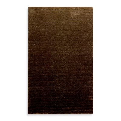 Kenneth Cole Reaction® Home 2-Foot 3-Inch x 3-Foot 9-Inch Accent Rug in Lash Brown