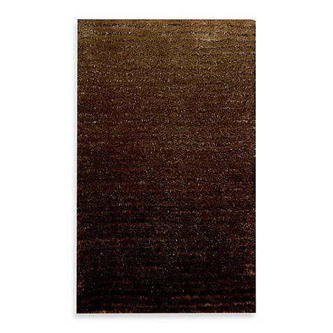 Kenneth Cole Reaction Home Accent Rug in Lash Brown