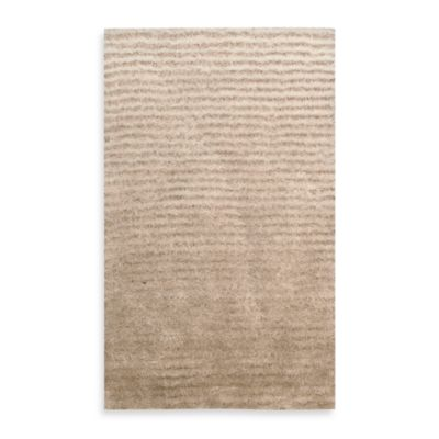 Kenneth Cole Reaction Home Lash 1-Foot 8-Inch x 2-Foot 6-Inch Accent Rug in Champagne