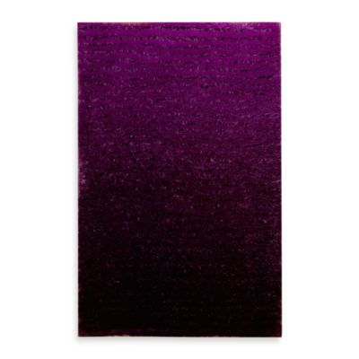 Kenneth Cole Reaction® Home Lash Plum 2-Foot 3-Inch x 3-Foot 9-Inch Accent Rug
