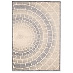 Kenneth Cole Reaction® Home Mosaic Tile Light Multicolored Area Rug