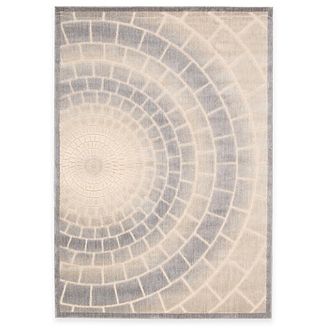 Kenneth Cole Reaction Home Mosaic Tile Area Rug In Light