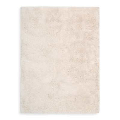 Kenneth Cole Reaction® Home White Shag 5-Foot x 7-Foot Area Rug