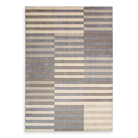Kenneth Cole Reaction Home Urban Stripe 5-Foot 3-Inch x 7-Foot 5-Inch Area Rug in Multicolor