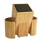 Kapoosh™ Kitchen Caddy Wooden Knife Block