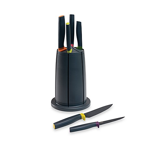 Joseph Joseph® Elevate Knives Carousel 6-Piece Knife Set