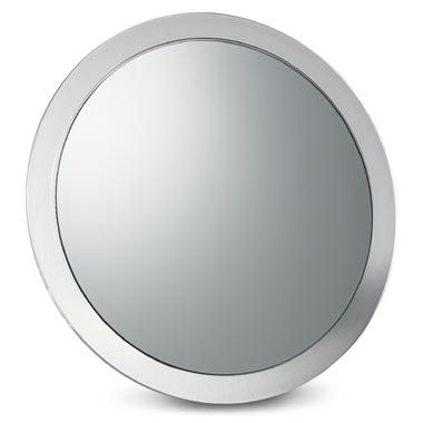 9-Inch 5X Magnification Suction Mirror