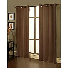 Sherry Kline Faux Silk Grommet Blackout Window Curtain Panels (Set of 2)