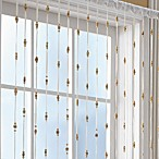 Croscill® Bamboo Bead Jewelry Window Curtain Panel